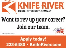 Knife River Ad