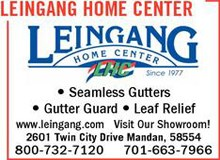 Leingang Home Center Ad
